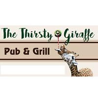 The Thirsty Giraffe